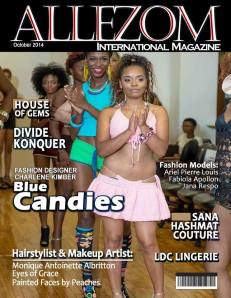 Blue Candies First Magazine Cover
